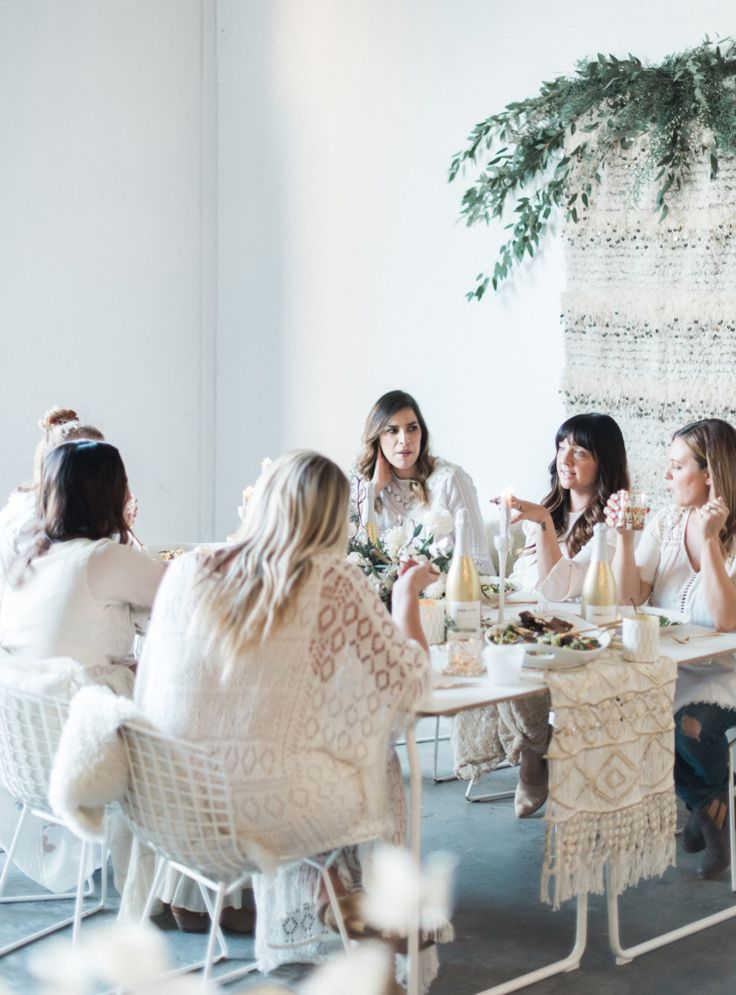 Winter White Celebration | How to Throw a Chic Dinner Party by Colette's Catering, Beijos Events, JL Designs, One Hope Wine | Image by Mike Radford