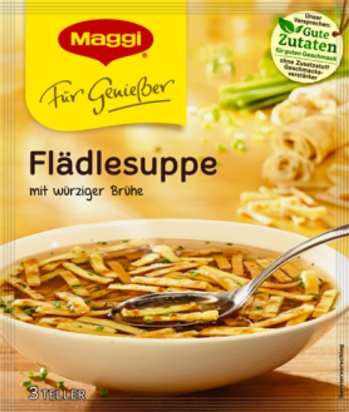 7 X Maggi Meisterklasse FlÄDlesuppe (Pancake Soup) Fresh From Germany