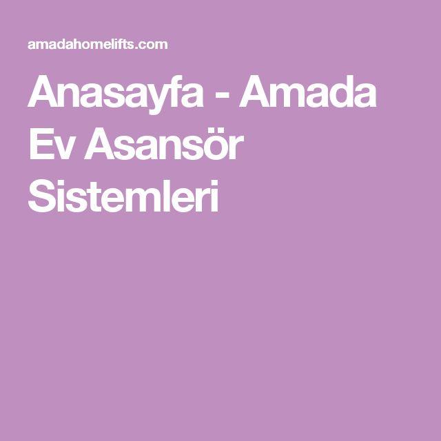 Anasayfa - Amada Ev Asansör Sistemleri