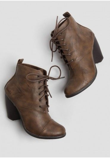 Midi Lace-Up Boots By Blowfish | Modern Vintage New Arrivals