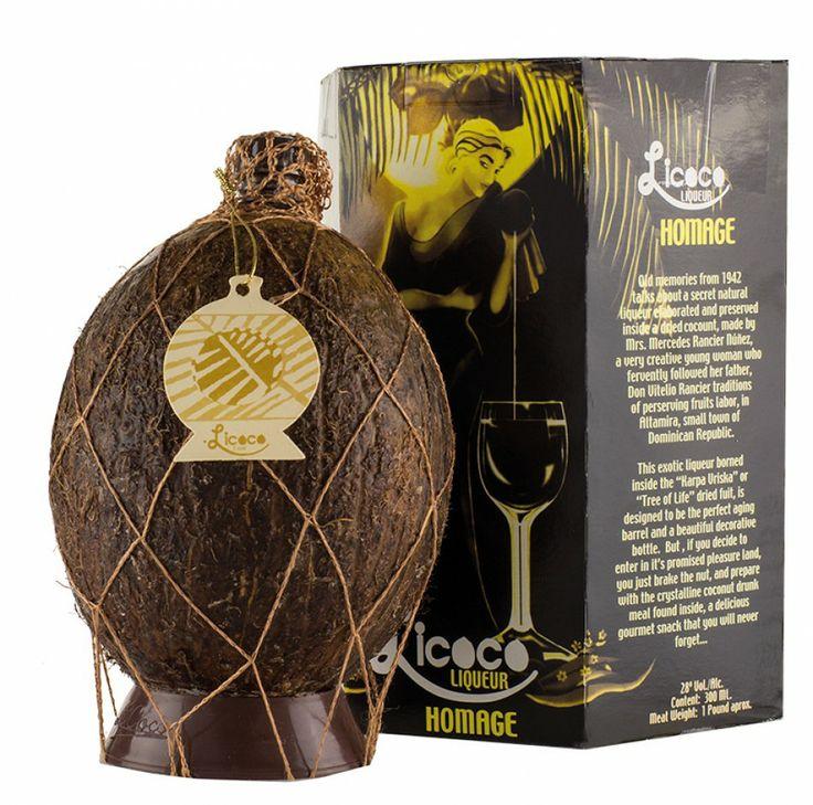 licoco liquor from the dominican republic - rum in a fresh coconut.. delicious