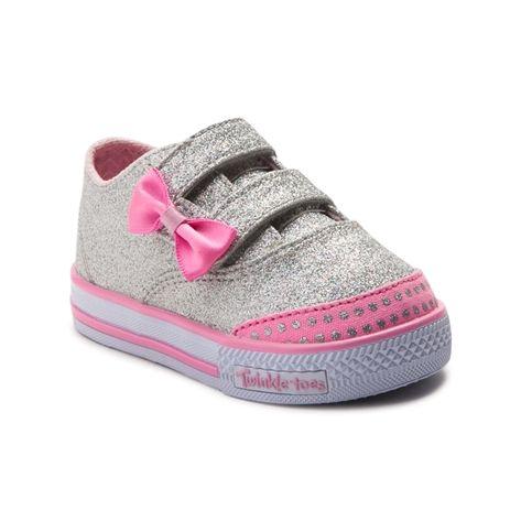 Infant Skechers Glitter Athletic Shoe