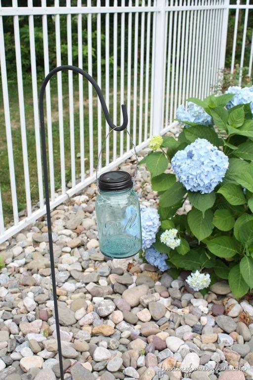 DIY Mason Jar Solar Light - Finding Home