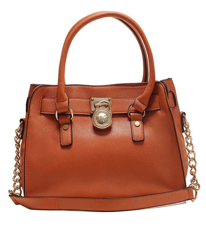 Michael Kors Hamilton Saffiano Leather Large Satchel