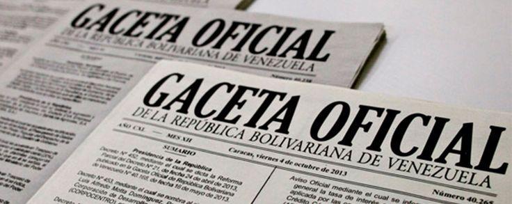 Publicada en Gaceta Oficial convocatoria a Asamblea Nacional Constituyente