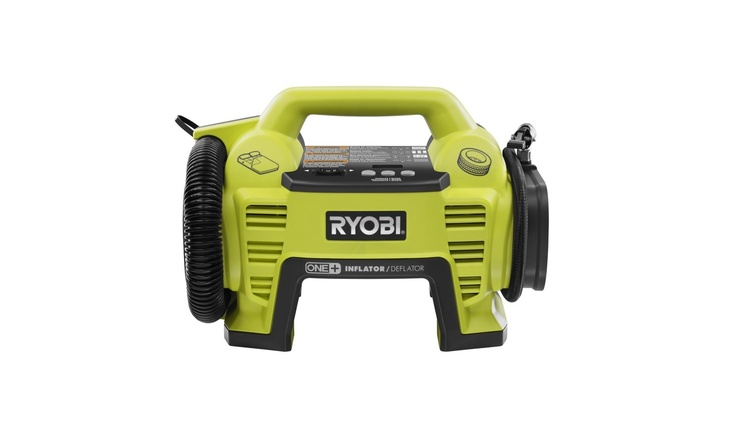 Ryobi Power Tools :: 18V Dual Function Inflator / Deflator  This would be handy