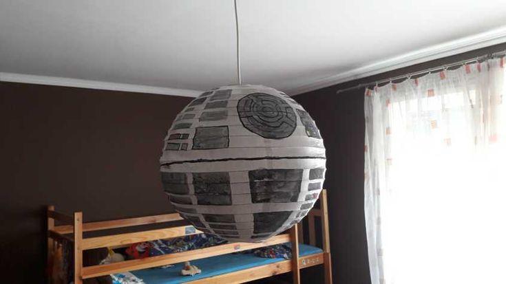 Star Wars halálcsillag lámpa - Lurkovarázs.hu - Kreatív feladatok gyerekeknek