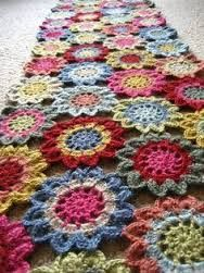 Resultado de imagen de japanese flower blanket crochet pattern