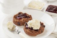 Light and Fluffy Chocolate Scones