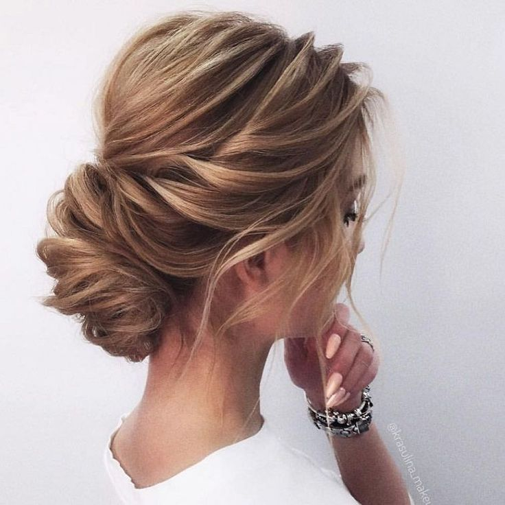 hair style pic best 25 wedding side buns ideas on braided 8159