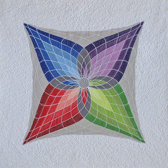 New quilt, new technique! /Geta's Quilting Studio