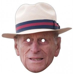 Prince Phillip Celebrity Mask