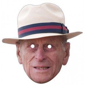 Prince Phillip Celebrity Mask