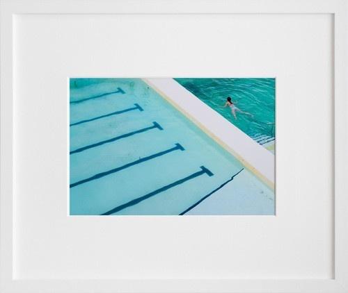 swimming art
