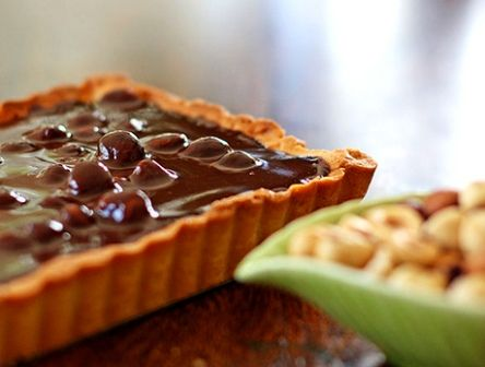 Chocolate Macadamia Nut Tart: will have to figure out or find another ...