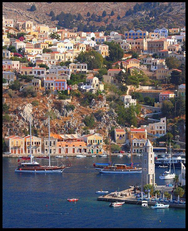 Symi Bay - Symi, Greece
