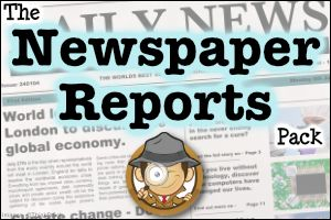 Enhance your children's newspaper report writing skills with this fantastic collection of teaching, activity and display resources! Includes a comprehensive guide, planning templates, writing checklists, examples of newspaper reports and more!