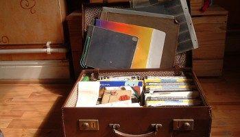 Hoe bewaar je knutsel-werken en verzamelingen van je kinderen?