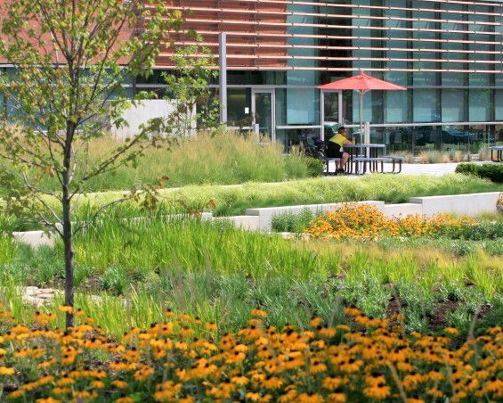 Grange Insurance Headquarters Landscape | Columbus USA | NBBJ