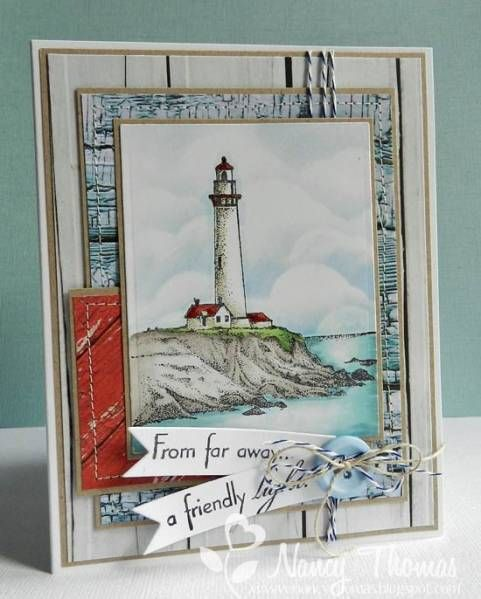 A Friendly Light by nancyt - Cards and Paper Crafts at Splitcoaststampers