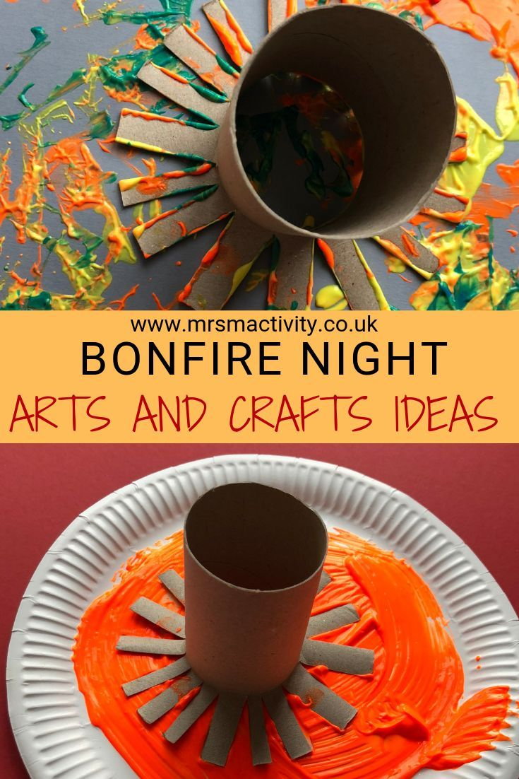 Bonfire Night Arts And Crafts Ideas Fun Art And Craft Ideas For