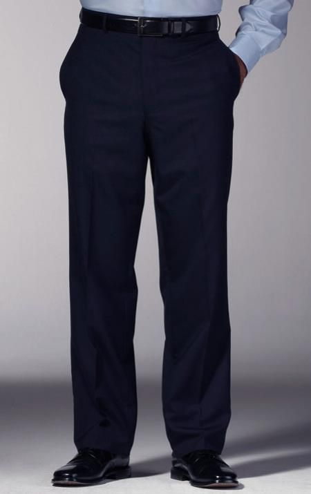 Sku Mk542 Men S Navy Blue Slim Fit Dress Pants In 2019 Dress