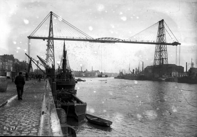 1912-Nantes le pont transbordeur source Gallica