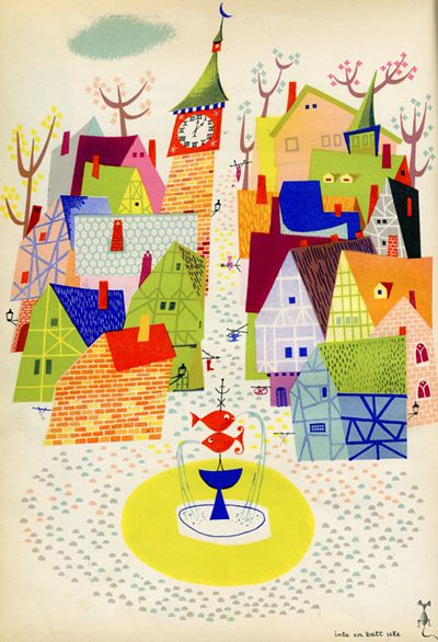 """From one of my favorite Olle Eksell books, """"Den Store Quillow""""."""