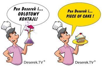 Koszulki Firmowe Deserek.TV | Deserek.TV - Przepisy Kulinarne ze Zdjęciami, przepisy na ciata, desery, wypieki. Jogurty mrożone,desery, Zdrowa żywność, mrożona kawa - Video przepisy, Polska Gotuje:deserektv