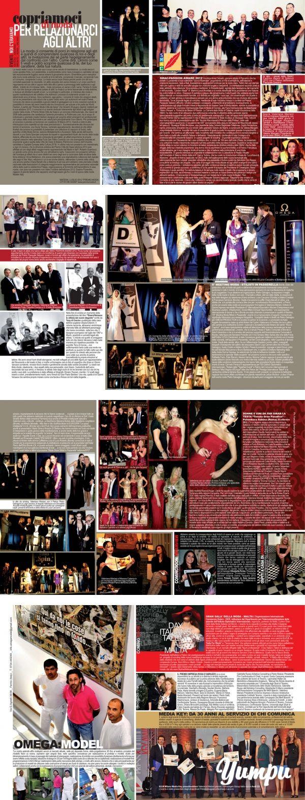 PER RELAZIONARCI AGLI ALTRI - eventi http://www.donnaimpresa.com - Magazine with 7 pages: