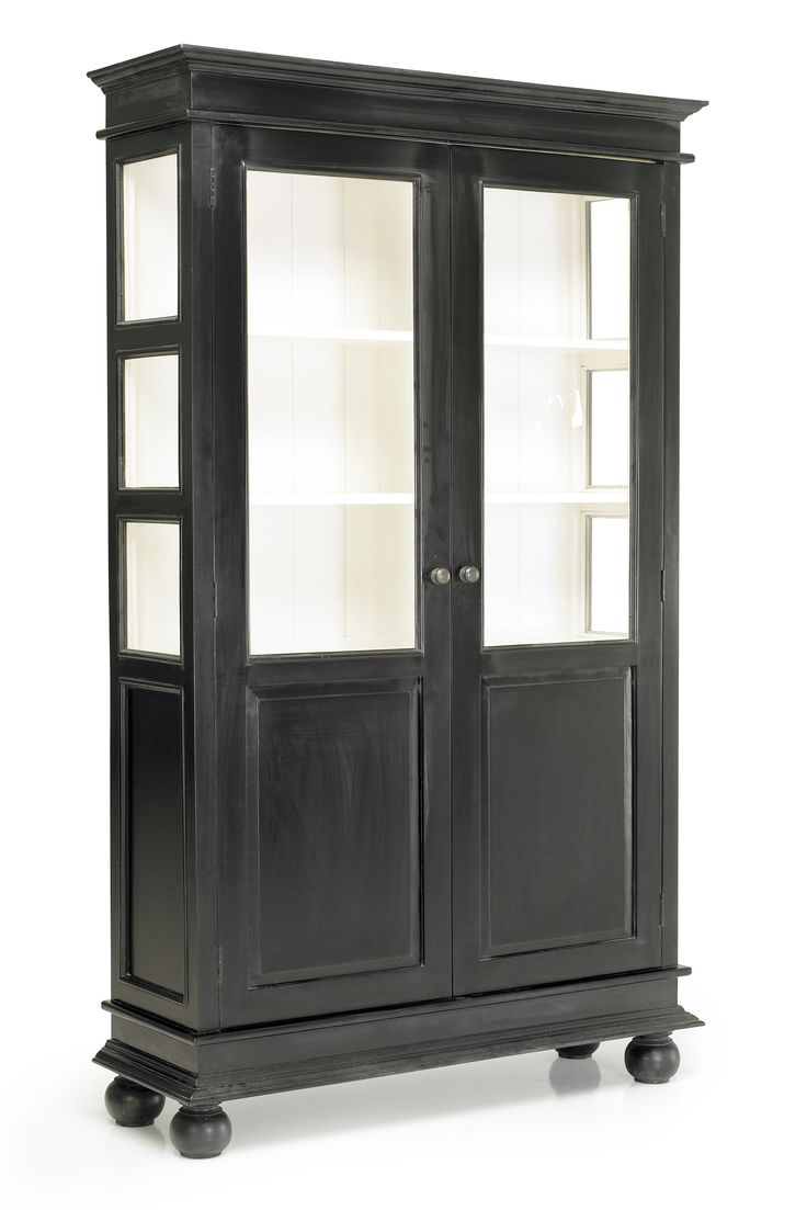 8790:- B112 H:200:D:36 Double cabinet vitrinskåp från Nordal hos ConfidentLiving.se