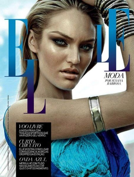 Candice Swanepoel for Elle Brazil October 2012