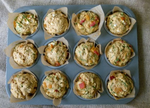 Hartige muffins met spinazie en feta ♥ Foodness - good food, top products, great health