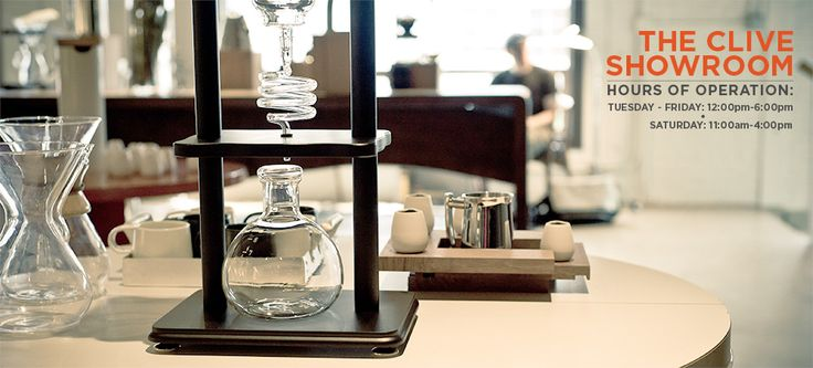 The Clive Coffee Showroom - Miva Merchant Store