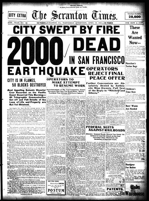 Gujarat and sanfrancisco earthquake essay