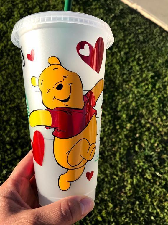 Starbucks Disney Winnie the Pooh Cups