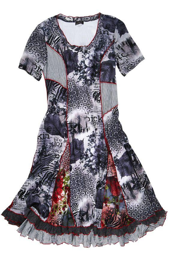 marie claire boutiques collection printemps t 2014 les robes robe patchwork r sille. Black Bedroom Furniture Sets. Home Design Ideas
