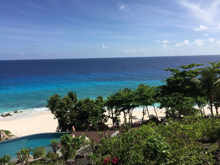 Paradise on Fregate island