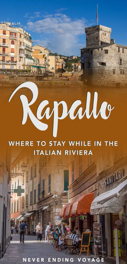 If you're planning to visit the Italian Riviera, then here's why Rapallo is the best place to stay. #italy #italianriviera