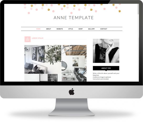 138 best images about ::Cute Blogger Templates :: on Pinterest
