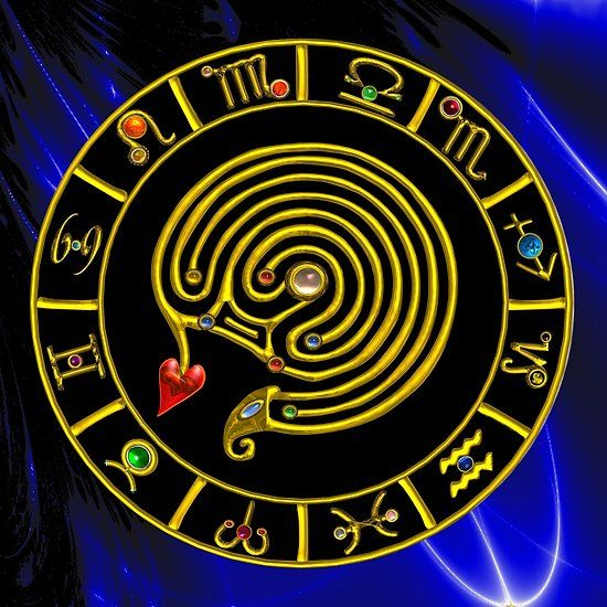GOLD ZODIAC CHART ,MEDIEVAL ASTRAL LABYRINTH WITH GEMSTONES IN BLUE FRACTALS   Collection #astrology #astrologist #psychicreader #medieval #labyrinyh #zodiac #zodiacal #birthday #heart #love #astral #zodiacal