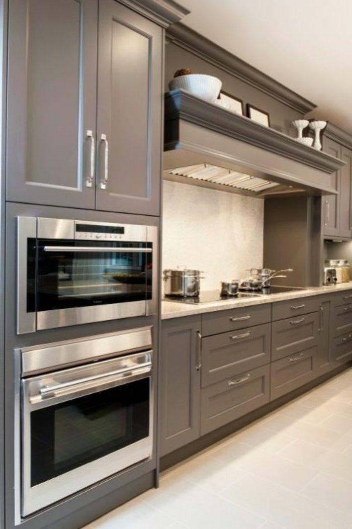 meubles de cuisine de style élégant, quelle couleur pour une cuisine