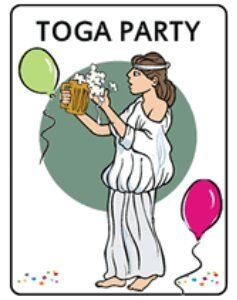Toga Party Ideas - Creative Party Themes and Ideas