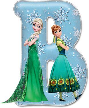Alfabeto de Frozen Fever con Minúsculas.