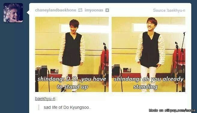 The sad life of Kyungsoo | allkpop Meme Center