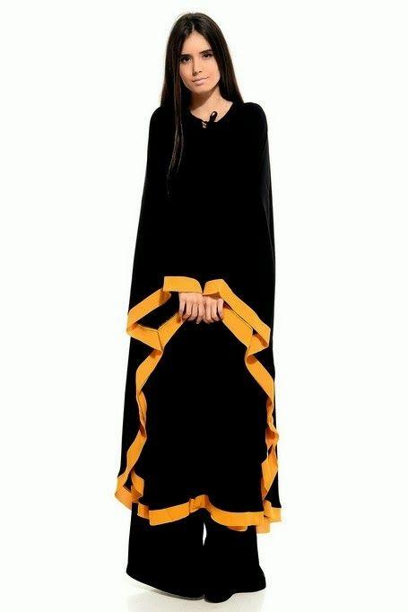 Very Fancy Abaya 2014 | Latest Abaya Designs 2014 | Gorgeous Abayas Collection 2014-2015