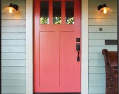 sybaritic spaces: Coral Front Door