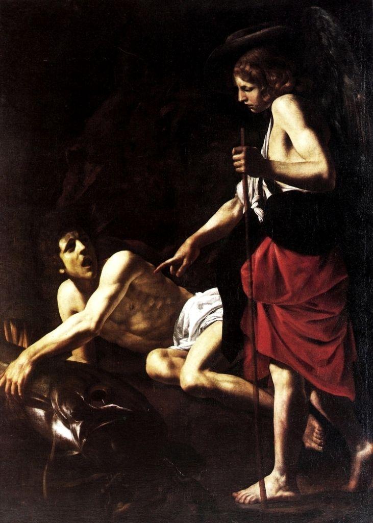 Giovanni Battista Caracciolo, detto il Battistello - Tobiolo e l'Angelo - 1620-1622