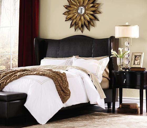 132 best images about bedroom on pinterest home decorators collection maharaja walnut queen headboard