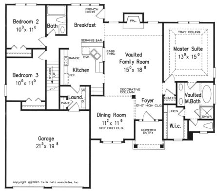 23 best images about floor plans on pinterest house for Single story floor plan